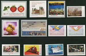 Bund-Jahrgang-2010-alle-Selbstklebende-postfrisch-SK-BRD-2777-2778-2779-2780-279