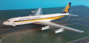 Boeing-707-300-Singapur-Aerolineas-9V-BEY-un-Metalico-Metal-Modelo-en-1-200