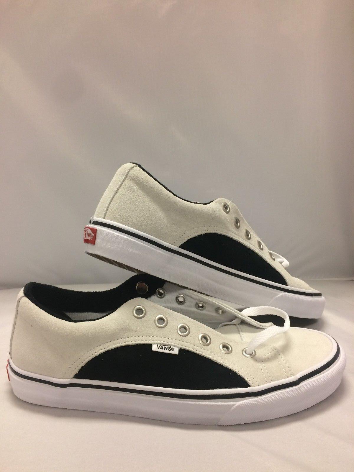 Vans Men's shoes  Lampin  (2-Tone Suede) True White