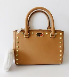 20dcb6ab06d336 Image is loading NWT-Michael-Kors-Kellen-Studded-Extra-Small-Satchel-