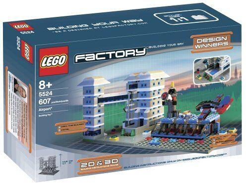nuovo Lego Factory Airport 5524 AIRPORT  Sealed  benvenuto per ordinare