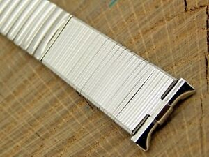 JB Champion Vintage NOS Unused Stainless Steel Watch Band Expansion 16mm-19mm