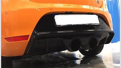 Seat Leon 1p Fr Cupra R R32 Rear Diffuser Rear Apron Diffuser Bumper Lug |  eBay