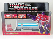 TRANSFORMERS AUTOBOT Optimus Prime tractor to Robot G1 Reissue Toy
