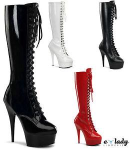 Aguja Dress Altos Ver Detalles Taco 2023 Rodilla Botas Delight Título Altas De Tacones La Plataformas Fancy Original Pleaser Zapatos Nymn0wOv8