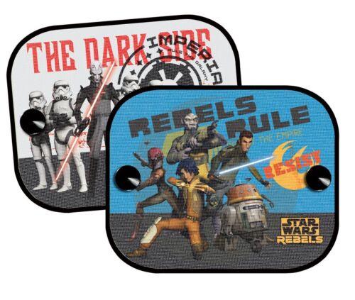 Auto Kinder Sonnenschutz 2 Stück-Motiv Star Wars Rebels