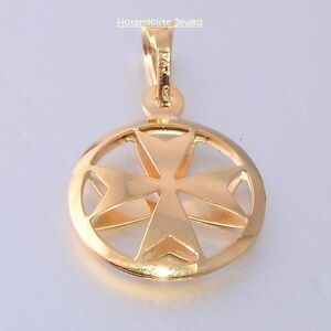 Amalfi malta maltese cross jewelry hallmarked 18ct 18k gold 3d image is loading amalfi malta maltese cross jewelry hallmarked 18ct 18k mozeypictures