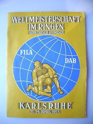 Aus Dem Ausland Importiert Weltmeisterschaft Ringen Griechisch Römisch Karlsruhe