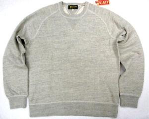 Levi-039-s-Vintage-Clothing-Sportswear-LVC-Levi-1950s-Crew-Sweatshirt-Gray-Levis-LVC