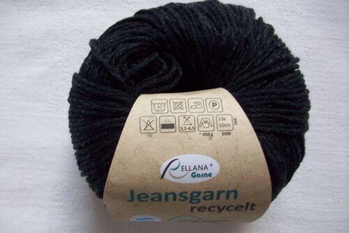Jeansgarn recycelt - von Rellana Grpr. 9,70€//100g 50 Gramm