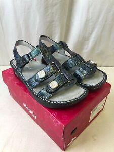 Alegria Women's Kleo Sandals Glimmer Glam Size 39 (US-W 9-9.5)