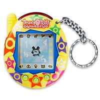 Tamagotchi Connection Version 3 - Yellow With Stars - New In Package - Very Rare