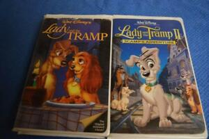 Rare Disney Lady And Tramp Ii Lady In The Tramp Black Diamond Vhs 786936140491 Ebay