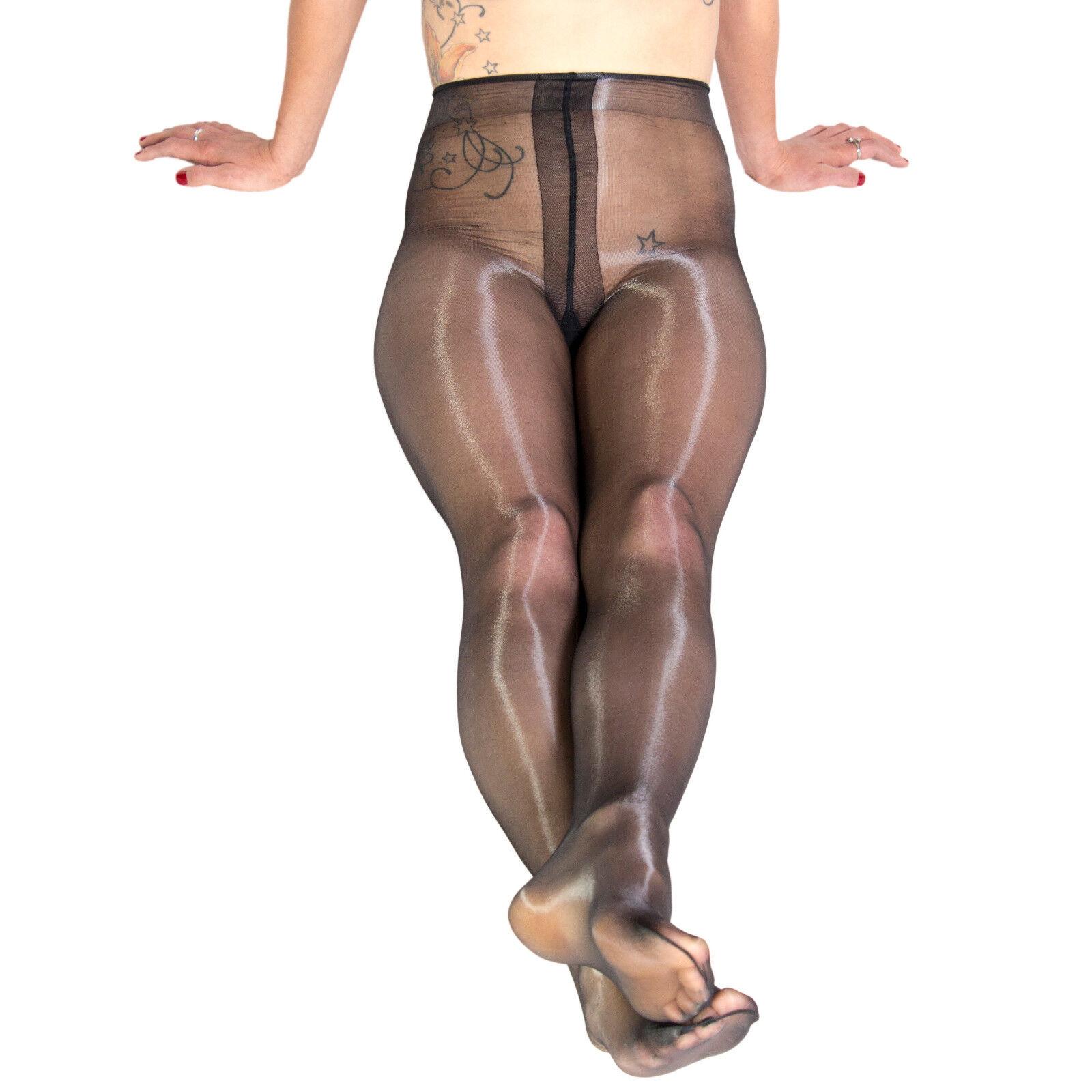 High gloss pantyhose