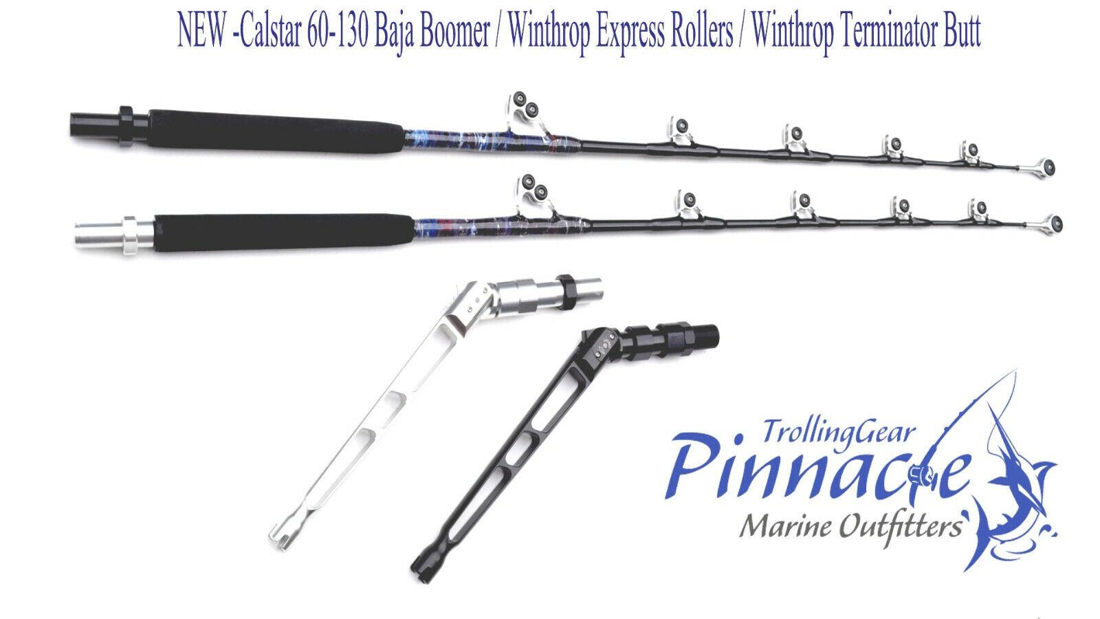 Personalizado  atún rojo diurna espada Rod-Winthrop Terminator + Rodillos de XP -