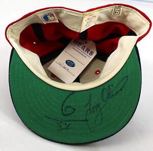 Tony Oliva Signed Game Used 1985 Minnesota Twins Hat Cap With MEARS COA