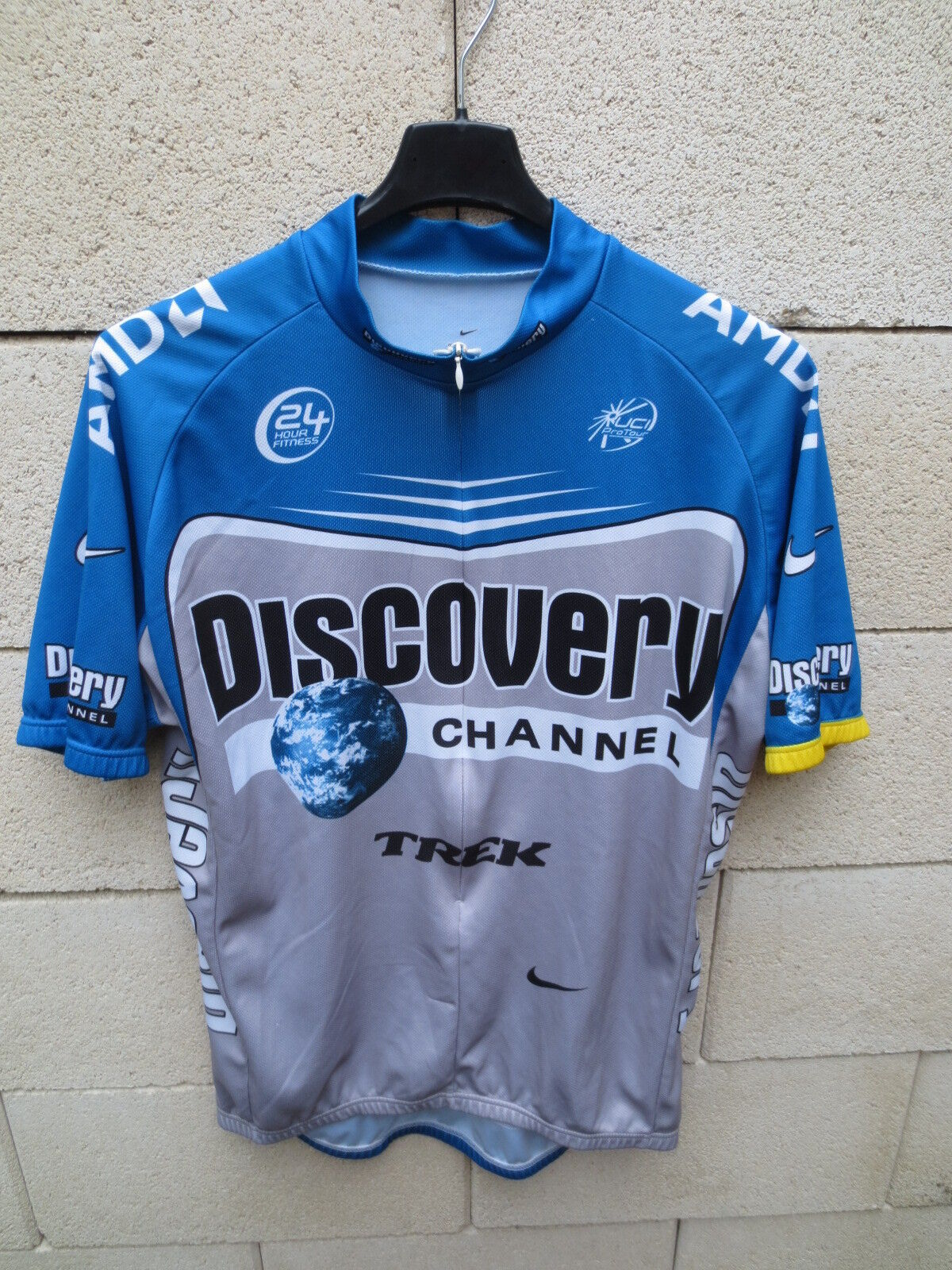 Maillot cycliste DISCOVERY  CHANNEL NIKE Shirt Pro Team Tour 2006 jersey XL  quality first consumers first