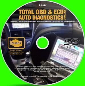 obd2 laptop automotive diagnostics software engine ecu car tuning remapping ebay. Black Bedroom Furniture Sets. Home Design Ideas