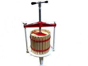 Frame fruit press 18l wine press home brew apple press for Home wine press