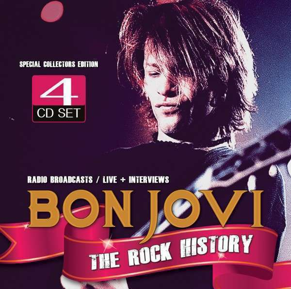 Bon Jovi - The Rock History (4cd) Neuf 4 X CD