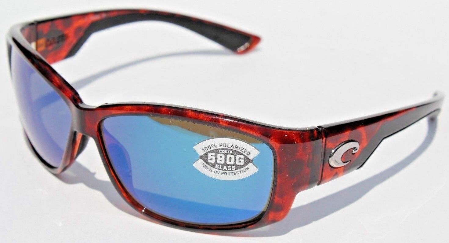 f78f293f5ad79 Costa Del Mar Luke Tortoise Blue Mirror 580g Sunglasses