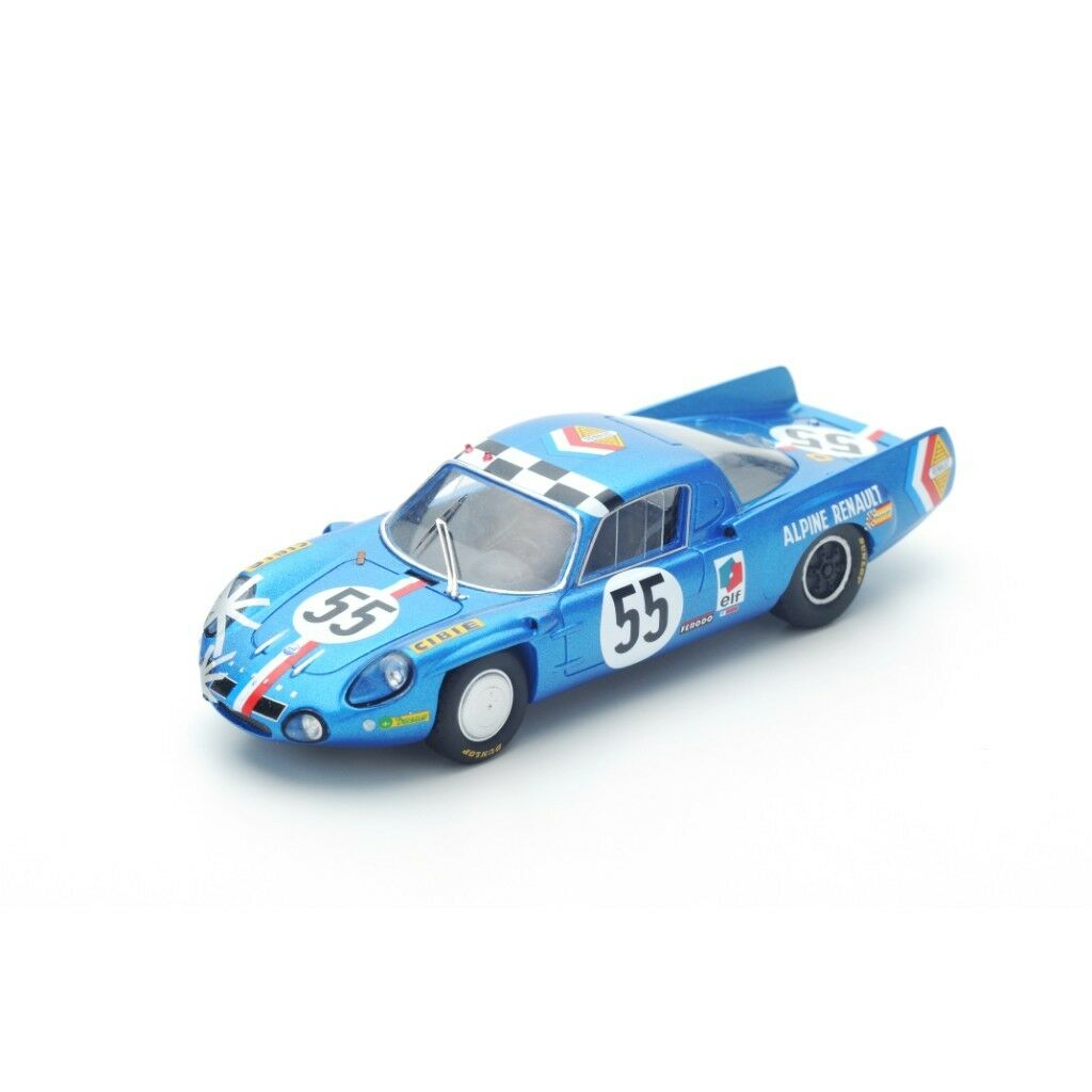 SPARK ALPINE A210 th Le Mans 1968 J.-C. Andruet - J.-P. Nicolas S4375 1 43