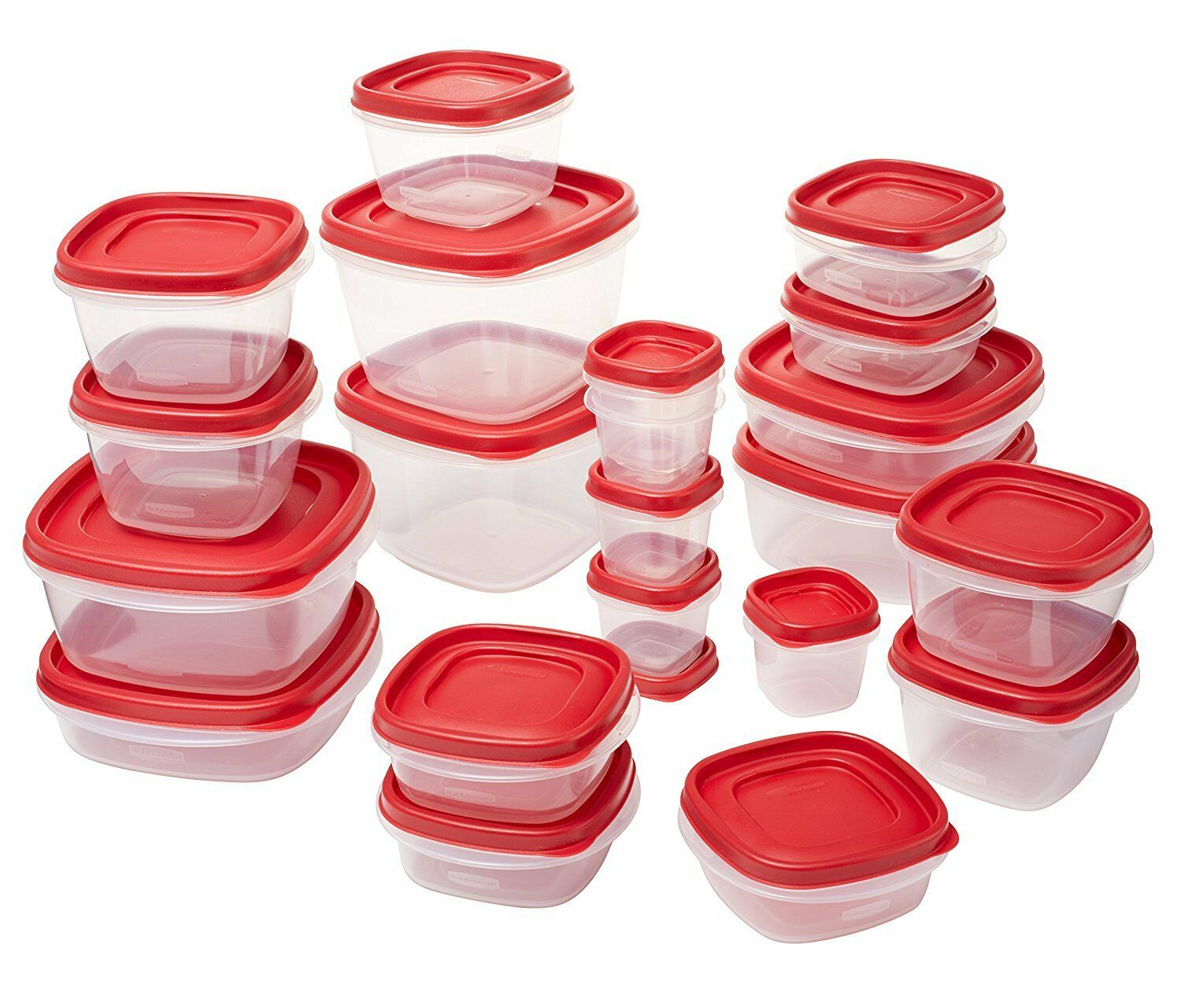 Rubbermaid Easy Find Lids Food Storage Containers 8 Sets