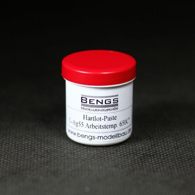 Silberlotpaste, Hartlotpaste mit 56% Silbergehalt zum Hartlöten Cadmiumfrei