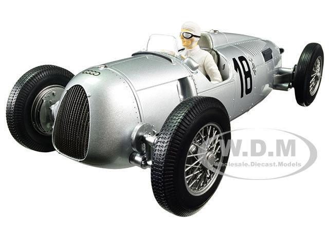 AUTO UNION TYPE C 1936 WINNER EIFELRENNEN ROSEMEYER 1/18 BY MINICHAMPS 155361018