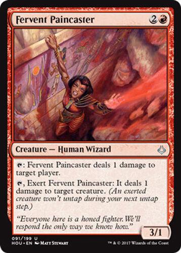 2x Fervent Paincaster Inbrünstige Schmerzmagierin Hour of Devastation Magic