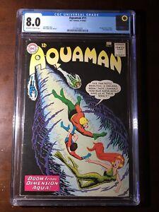 Aquaman-11-1963-1st-Mera-CGC-8-0-Key-Rare-High-Grade