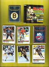 1990-91 Panini Hockey Complete Sticker Set Mint