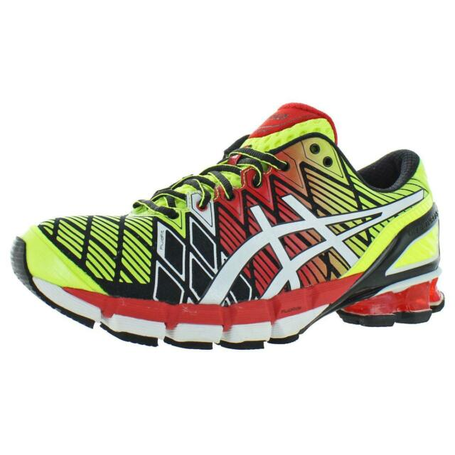 pas cher pour réduction 428f4 6d88a Asics Mens Gel-Kinsei 5 Yellow Running Shoes Sneakers 7.5 Medium (D) BHFO  3603