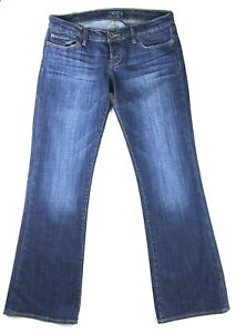 Lucky-Brand-LIL-MAGGIE-Jeans-Low-Rise-Boot-Cut-Dark-Button-Fly-Womens-Size-6-28