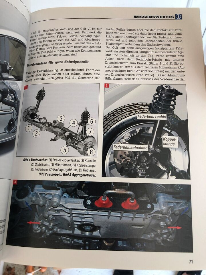 Reparationshåndbog, Reparationshåndbog Golf VI