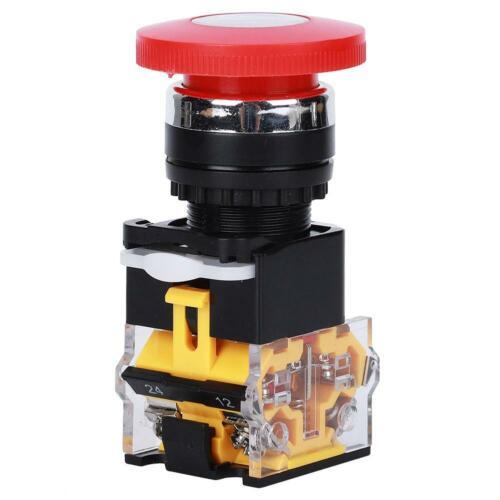 3x Not-Aus Schalter Taster Maschinenschalter Geräteschalter Druckschalter 22mm