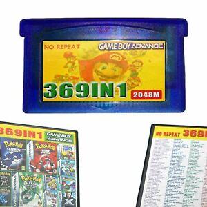 369-in1-GBA-Cartuccia-di-Gioco-Per-GBA-SP-GBM-NDS-NDSL-GameBoy-Advance-Multicart