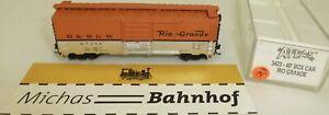 D&rgw Rio Grande 67534 40' Box Car Atlas 3423 N 1:160 # = 15 å-afficher Le Titre D'origine