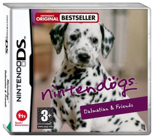 Nintendogs Dalmation Friends  GAME NEUF