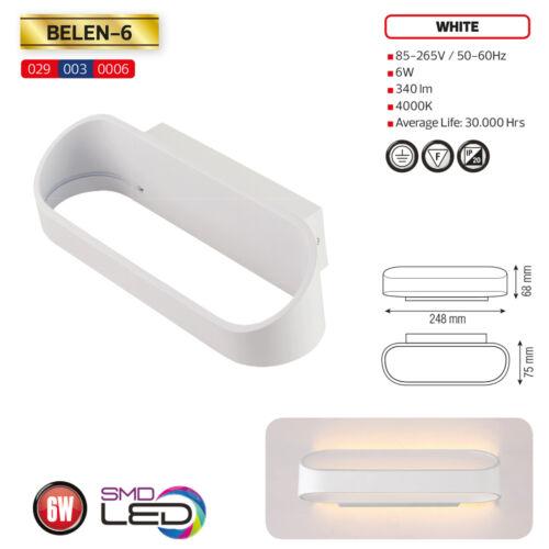 LED Wandleuchte Wandlampe Flurlampe Modern Beleuchtung Treppenlampe Effektlampe