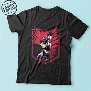 Attack On Titan Season 4 Shirt Aot Final Season Tshirt Mikasa And Levi S4 Tshirt Ebay
