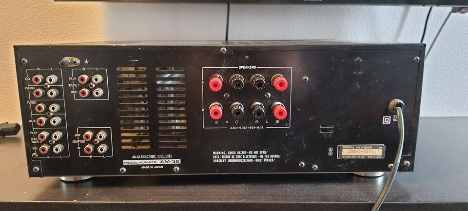 Forstærker, Akai, AM-32
