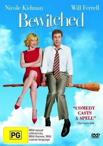 Bewitched-NEW-DVD-Nicole-Kidman-Will-Ferrell