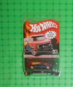 2 Hot Wheels 2018 Collector Edition CUSTOM GMC PANEL VAN Mattel Metal Cars NEW