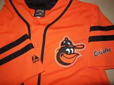 Majestic Baltimore Orioles Baseball Jersey NEW Cooperstown Collection Shirt M