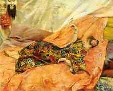 Rochegrosse Georges Antoine A Portrait Of Sarah Bernhardt 5 A4 Print
