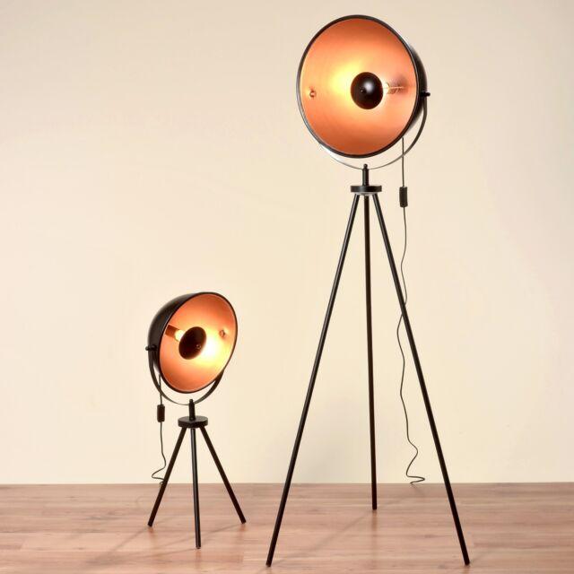 Boltze stehlampe elias h79 b32cm schwarz eisen for Arredamento estetista usato