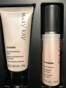 New Mary Kay Timewise Microdermabrasion Plus Set Refine Pore