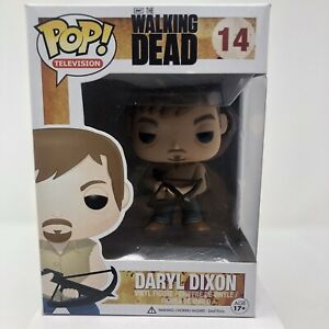 FUNKO POP THE WALKING DEAD DARYL DIXON #14 VINYL FIGURE POP PROTECTOR