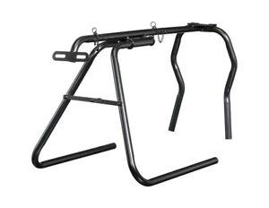 Tough 1 Roping Dummy Junior Collapsible Metal Tubing Black 58-7870